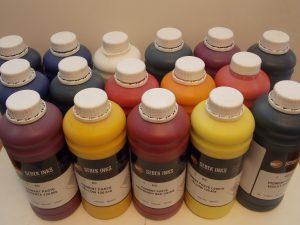 pigments à l'eau